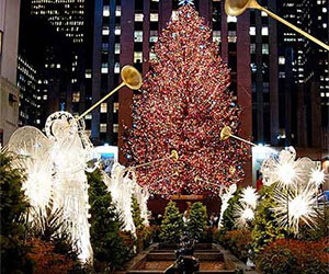 Kerstshoppen in New York