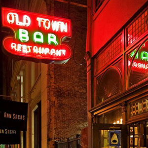 Fron old town bar new-york