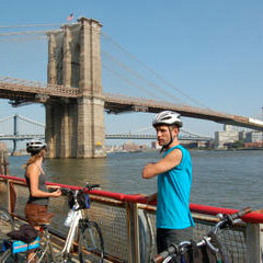 Brooklyn bridge fietstocht new york