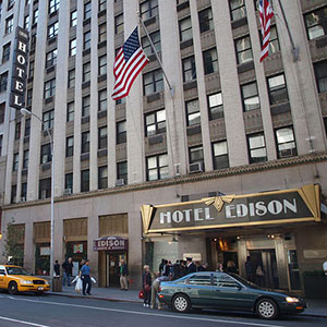 Edison hotel New York