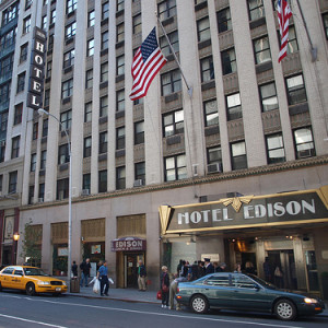Edison hotel New York