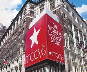 Winkelen bij Macy's