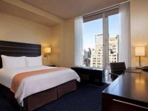 Hilton Hotelkamer in New York