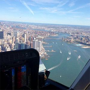 Manhattan vanuit de lucht: New York Helikoptervlucht