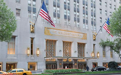 The Waldorf Astoria sluit voor 3 jaar